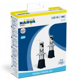 NARVA SET LED LAMPS H4 6000K