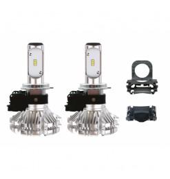 Led H7 με αντάπτορα για Οpel Corsa D / Fiat 500 / Ford Focus SΧ-Series Αmio 02065