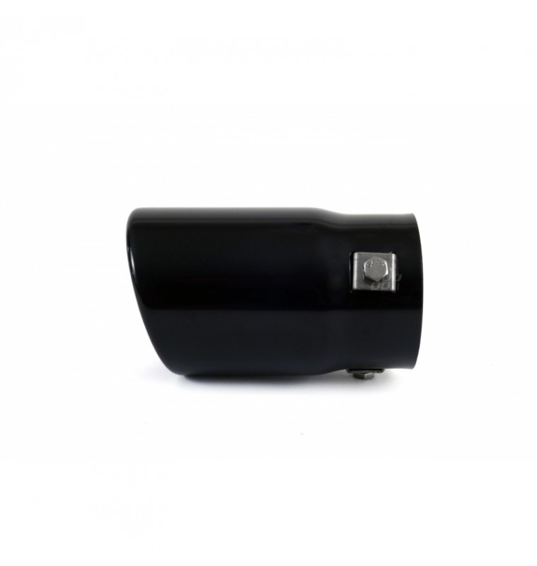 Universal Εξάτμιση Μπούκα Glossy Βlack ΜΤ017Β Αmio 43 - 62mm