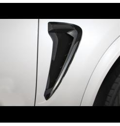 Αεραγωγοί φτερών Τύπου BMW X5 F15 M-Design Μαύρο Χρώμα