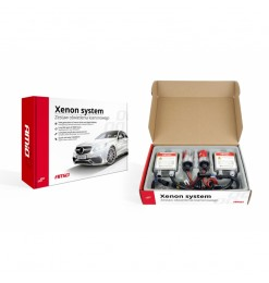 Xenon kit type 1103 H7M με μεταλλική βάση 8000K Amio 01844