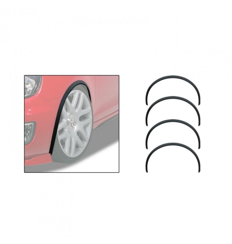 Universal Προστατευτικές Προεκτάσεις Φτερών Αυτοκινήτου Σετ 4 Τεμ 150cm x 3.2cm RDRV1500