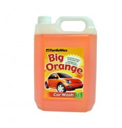 TURTLE WAX BIG ORANGE CAR WASH 5LT