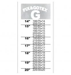 ΧΙΟΝΟΚΟΥΒΕΡΤΑ FIX&GO TEX (G) - 13167