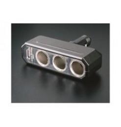 ΔΙΑΚΛΑΔΩΤΗΣ ΤΡΙΠΛΟΣ + USB 12 &24V