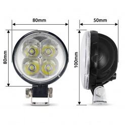 ΠΡΟΒΟΛΑΚΙ LED SPOT EPISTAR φ80mm - 14308