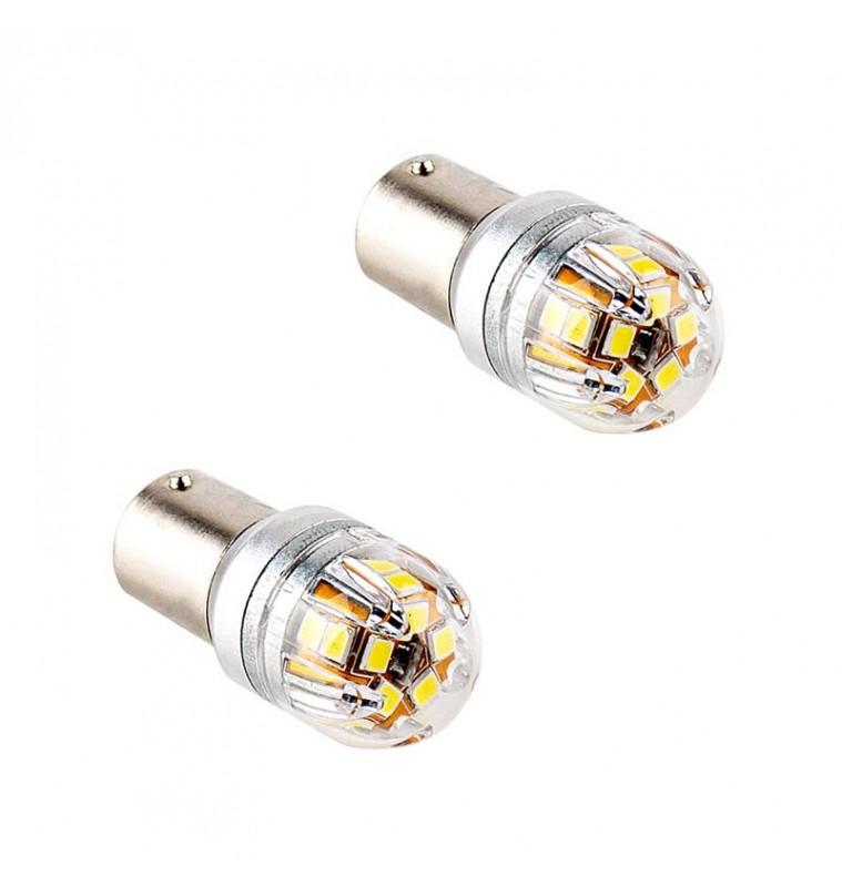 ΛΑΜΠΕΣ LED LX17 BA15S 15X2835SMD 12-24V - 14389