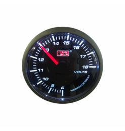 Βολτόμετρο Auto Gauge 60MM Smoke Gauge Series Super White