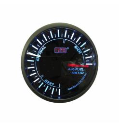 Halmeter Auto Gauge 60MM Smoke Gauge Series Super White
