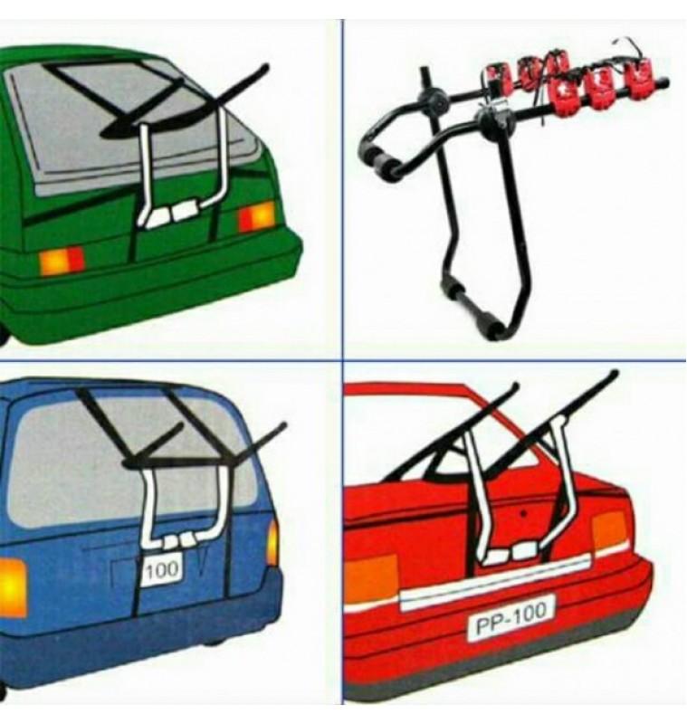 Βάση αυτοκινήτου για 3 Ποδήλατα Διαστάσεις: 83 cm x 48 cm x 59 cm