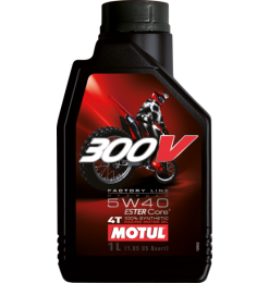 300V Factory Line Off Road 5W40