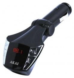 AKAI FMT-21 FM TRANSMITTER ΚΑΙ ΦΟΡΤΙΣΤΗΣ ΑΥΤΟΚΙΝΗΤΟΥ ΜΕ USB ΚΑΙ AUX-IN