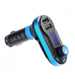AKAI FMT-66B BLUETOOTH CAR FM TRANSMITTER ΚΑΙ ΦΟΡΤΙΣΤΗΣ