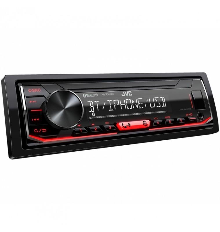 Ηχοσύστημα Αυτοκινήτου Ράδιο 1-DIN με Bluetooth και USB / AUX KD-X362BT