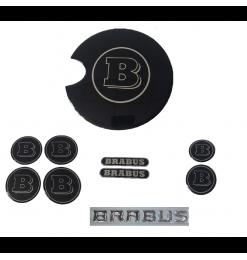 Set Αυτοκόλλητα Σήματα Για Smart Fortwo 451 2007-2014 ''Brabus''