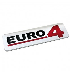 ΜΕΤΑΛΛΙΚΟ ΑΥΤΟΚΟΛΛΗΤΟ 3D EURO4