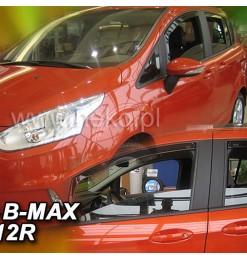 FORD B-MAX 5D 2012+ ΖΕΥΓΑΡΙ ΑΝΕΜΟΘΡΑΥΣΤΕΣ ΑΠΟ ΕΥΚΑΜΠΤΟ ΦΙΜΕ ΠΛΑΣΤΙΚΟ HEKO - 2 ΤΕΜ.