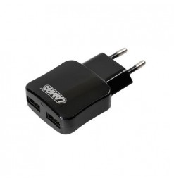 Φορτιστής Πρίζας 220V σε 2 USB 5V/1A