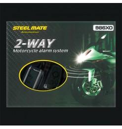Steelmate Συναγερμός STEELMATE 986XO