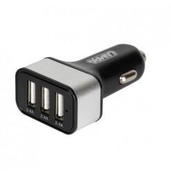 ΑΝΤΑΠΤΟΡΑΣ ΑΝΑΠΤΗΡΑ 12/24V ΜΕ 3 USB 7200mA FAST CHARGER