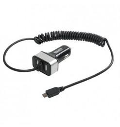 ΑΝΤΑΠΤΟΡΑΣ ΑΝΑΠΤΗΡΑ 12/24V ΜΕ 2 USB ΚΑΙ ΚΑΛΩΔΙΟ ΦΟΡΤΙΣΗΣ MICRO USB