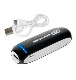 Lampa Αυτόνομος Φορτιστής Μπαταρίας {Power Bank} USB 2200mAh POWER PACK 2200 Μαύρο