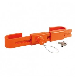 Lampa Κλειδαριά για  CONTAINER 22>43cm με κλειδί ZANNA