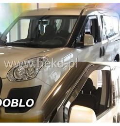 FIAT DOBLO 2010> / OPEL COMBO D 2011> ΖΕΥΓΑΡΙ ΑΝΕΜΟΘΡΑΥΣΤΕΣ ΑΠΟ ΕΥΚΑΜΠΤΟ ΦΙΜΕ ΠΛΑΣΤΙΚΟ HEKO - 2 ΤΕΜ.