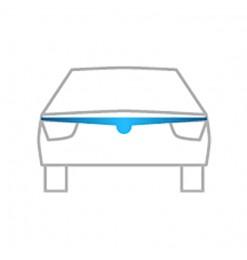 VW CADDY 2004>2010 /TOURAN 03-08 ΑΝΕΜΟΘΡΑΥΣΤΗΣ ΚΑΠΩ ΑΥΤΟΚΙΝΗΤΟΥ ΑΠΟ ΕΥΚΑΜΠΤΟ ΦΙΜΕ ΠΛΑΣΤΙΚΟ HEKO - 1 ΤΕΜ.