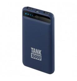 ΑΥΤΟΝΟΜΟΣ ΦΟΡΤΙΣΤΗΣ ΜΠΑΤΑΡΙΑΣ POWER PACK TANK 10000mAh 2000mA ΜΕ ΚΑΛΩΔΙO ΓΙΑ MICRO USB+APPLE 8 PIN