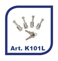K39 ΚΛΕΙΔΑΡΙΕΣ ΓΙΑ ΜΠΑΡΕΣ ΟΡΟΦΗΣ ΣΙΔΗΡΟΥ/ΑΛΟΥΜΙΝΙΟΥ K39 (2 ΚΛΕΙΔΙΑ) - 4 ΤΕΜ.