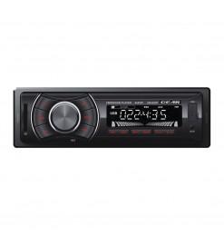 GEAR Automotive Equipment ΡΑΔΙΟ FM/USB/SD/MP3 4x45W GEAR ΜΕ REMOTE CONTROL (ΚΟΚΚΙΝΟΣ ΦΩΤΙΣΜΟΣ)
