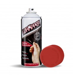 ΠΡΟΣΤΑΤΕΥΤΙΚΟ ΦΙΛΜ ΣΕ ΣΠΡΕΙ WRAPPER RAL 3000 FLAME RED 400 ml (ΚΟΚΚΙΝΟ ΧΡΩΜΑ)