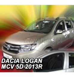 Heko DACIA LOGAN MCV II 5D 2013> - ΣΕΤ ΑΝΕΜΟΘΡΑΥΣΤΕΣ HEKO (4 ΤΕΜ.)
