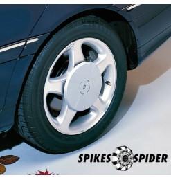 ΑΝΤΑΠΤΟΡΕΣ 17 mm ΓΙΑ SPIKES SPIDER ΑΛΥΣΙΔΕΣ (2 ΤΕΜ.)