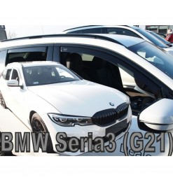 BMW 3 G21 5D 2019> SW  ΣΕΤ ΑΝΕΜΟΘΡΑΥΣΤΕΣ ΑΥΤΟΚΙΝΗΤΟΥ ΑΠΟ ΕΥΚΑΜΠΤΟ ΦΙΜΕ ΠΛΑΣΤΙΚΟ HEKO - 4 ΤΕΜ.