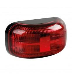 ΦΩΣ ΟΓΚΟΥ 10-30V ΜΕ 4 LED ΚΟΚΚΙΝΟ 60x32x25mm  1ΤΕΜ.