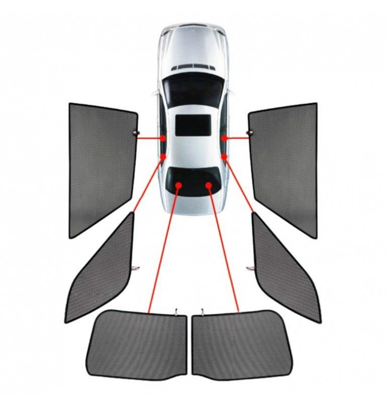 CarShades MERCEDES VITO W693 5D 03>14 ΚΟΥΡΤΙΝΑΚΙΑ ΜΑΡΚΕ CAR SHADES - 6 ΤΕΜ.