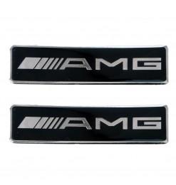 Race Axion AMG (MERCEDES)  ΣΗΜΑΤΑ ΒΙΔΩΤΑ 10 Χ 3 cm ΕΠΟΞΕΙΔΙΚΗΣ ΡΥΤΙΝΗΣ (ΥΓΡΟ ΓΥΑΛΙ) ΣΕ ΜΑΥΡΟ/ΧΡΩΜΙΟ ΓΙΑ ΠΑΤΑΚΙΑ - 2 ΤΕΜ.