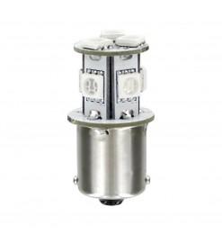 P21W 24/28V BA15s 100lm HYPER-LED24 ΛΕΥΚΟ (ΜΟΝΟΠΟΛΙΚΟ) BLISTER 1ΤΕΜ.