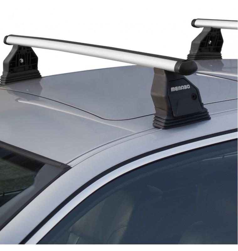 MENABO VW AMAROK 4D 10> KIT ΜΕ ΜΠΑΡΕΣ ΟΡΟΦΗΣ ΑΛΟΥΜΙΝΙΟΥ MENABO (AL2-3360-FIX501FP)
