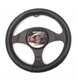 CarCommerce ΚΑΛΥΜΜΑ ΤΙΜΟΝΙΟΥ LUXURY 37-39,5 cm (ΜΑΥΡΟ ΔΕΡΜΑΤΙΝΗ) CAR COMMERCE - 1 ΤΕΜ.