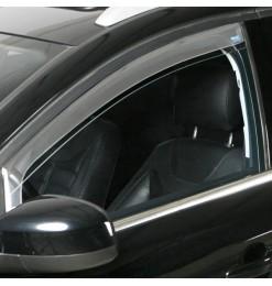 FIAT 500L 2012+ DARK MASTER (ΠΙΣΩ) ΑΝΕΜΟΘΡΑΥΣΤΕΣ ΠΑΡΑΘΥΡΩΝ ΣΚΟΥΡΟ ΦΙΜΕ ΠΛΑΣΤΙΚΟ CLIMAIR - 2 ΤΕΜ.