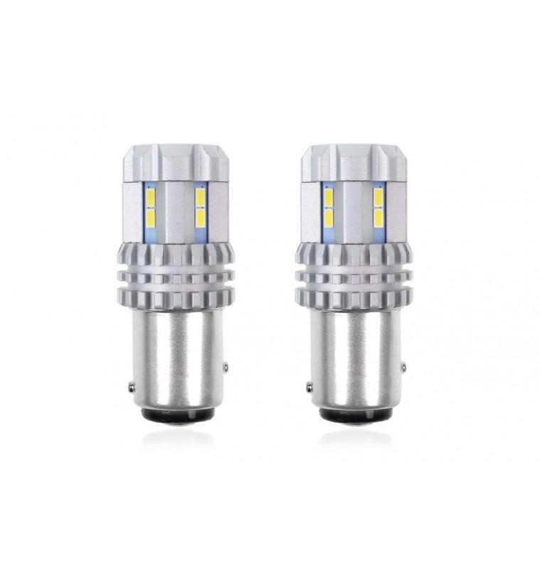 P21/5W CANBUS 12/24V LED 22xSMD ULTRABRIGHT 3020 ΛΕΥΚΟ 2ΤΕΜ.