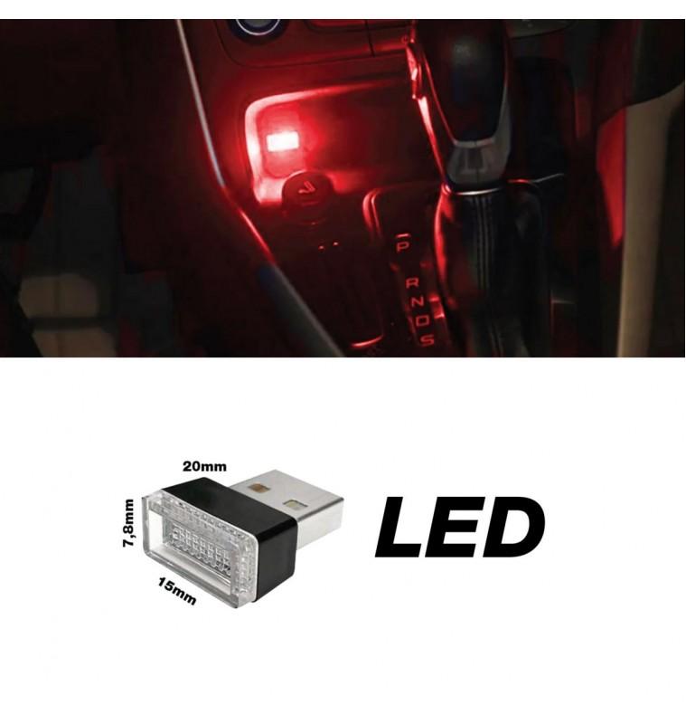 ΠΛΑΦΟΝΙΕΡΑ ΣΕ USB ΚΟΚΚΙΝΟ ΦΩΣ ATHMOSPHERE LED ΓΙΑ ΘΥΡΑ USB 20x15x7,8mm 1ΤΕΜ.