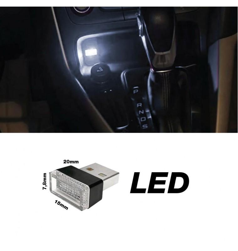 ΠΛΑΦΟΝΙΕΡΑ ΣΕ USB ΛΕΥΚΟ ΦΩΣ ATHMOSPHERE LED ΓΙΑ ΘΥΡΑ 20x15x7,8mm 1ΤΕΜ.
