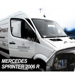 MERCEDES SPRINTER W906 2006>2018 / VW CRAFTER (ΚΟΝΤΟ) ΖΕΥΓΑΡΙ ΑΝΕΜΟΘΡΑΥΣΤΕΣ ΑΠΟ ΕΥΚΑΜΠΤΟ ΦΙΜΕ ΠΛΑΣΤΙΚΟ HEKO - 2 ΤΕΜ.